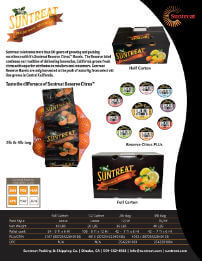Suntreat Reserve Sales Sheet